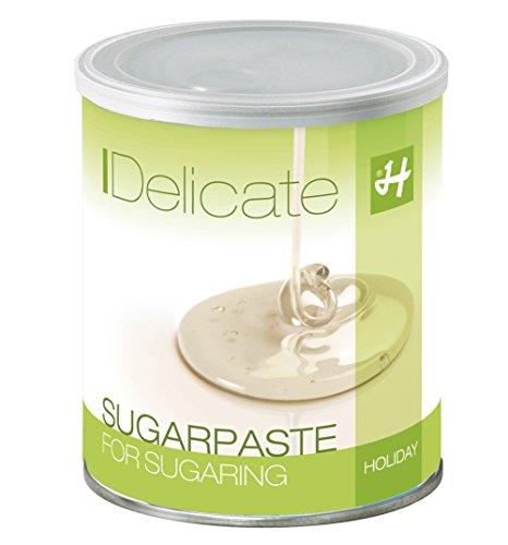 Zuckerpaste Delicate (Soft-Soft) - 1 kg - Sugaring, die effektive, langfristige Haarentfernung ohne Vliesstreifen mit der Flicking-Technik