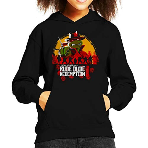 Rude Dude Redemption II Teenage Mutant Ninja Turtles Kid's Hooded ()