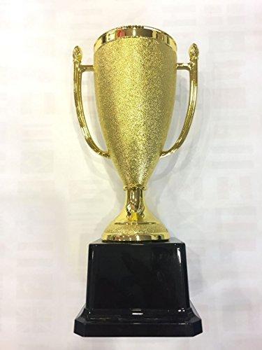 Pokale für Sportveranstaltungen, ideal auch als Geschenk, aus Kunststoff, Goldfarben, gold