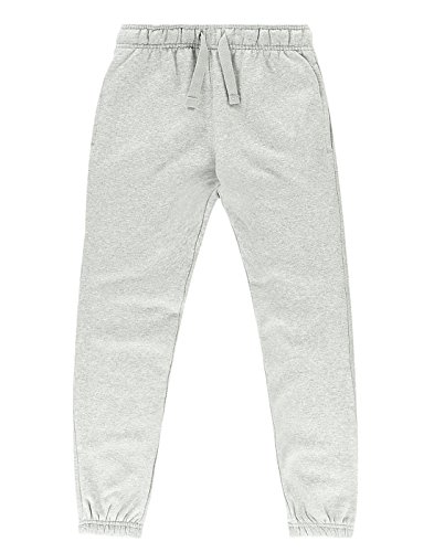 ex-ms-new-childrens-boys-girls-jogging-bottoms-joggers-sports-trouser-pants-marl-grey-45-years-4-5-y