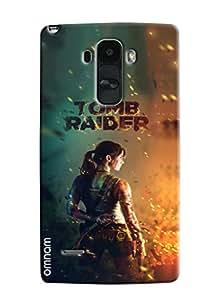 Omnam Hollywood Celebrity Tom Raider Printed Designer Back Cover Case For LG G4 Stylus