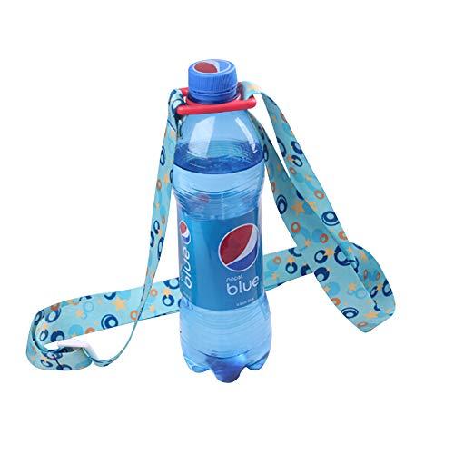 YOUNICER Einstellbare Wasserflasche Sling Trinkflasche Sling Universal Wasserflasche Träger Flasche Strap Für Tägliches Gehen, Radfahren, Wandern -