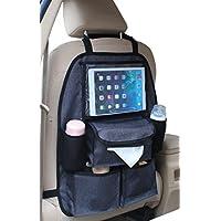 Altabebe AL1103 Deluxe Organizzatore Sedile Posteriore con Tasca per Tablet, Nero