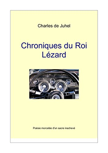 Couverture du livre Chroniques du Roi Lézard: Poésie pop