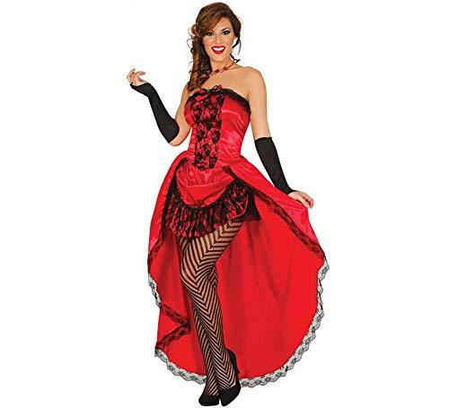 Fiestas Guirca Burlesque Kostüm kann kann sexy (Express Kostüm Burlesque)