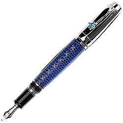 Montblanc Estilográfica Boheme Jewellery con topacio Azul - MB9931