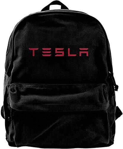 Tesla Motors Travel Backpack for School Water Resistant Bookbag
