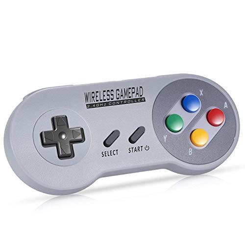 0 Pro Gamepad Wireless Bluetooth Game Controller 6-Achsen Body Sense Retro Design Gamepad für Android Phone/Tablet/PC/Steam/Nintendo Switch ()