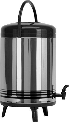 nser Modell ISOD 12 Isod 12 Getränke-Dispenser, Edelstahl, Silber, 28 x 28 x 32 cm (Kunststoff-getränke-dispenser)