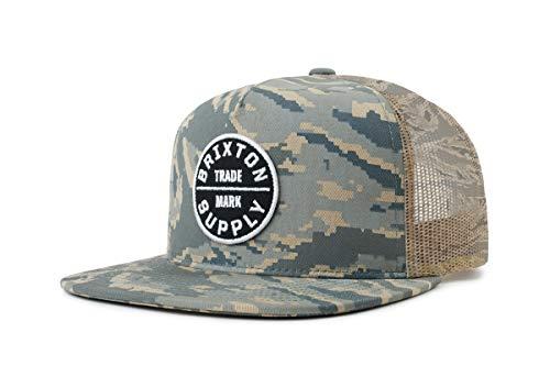 Brixton Oath III MESH Cap Headwear, Tiger Camo, O/S -