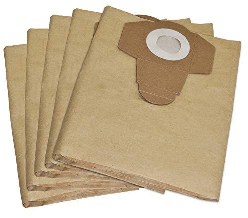 10 Staubsaugerbeutel 30 Liter geeignet für Prakside Lidl PNTS 1500 A1, B2, B3, 23E, 30/4, 30/6, 30/7, 30/8, 30/9, 35/5