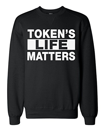 tokens-life-matters-design-classic-sweatshirt-medium