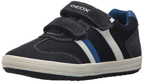 Geox Jungen JR Vita B Low-Top Sneaker, Blau (Navy/White), 35 EU