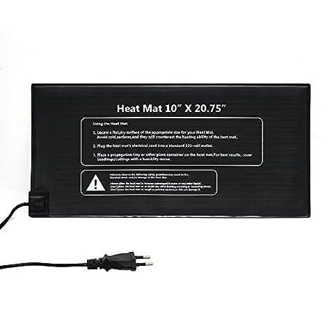 Lerway 21W, 25x52cm Wasserdichte Wärmeplatte Heizkissen Wärmer Bett Heizmatte für