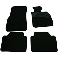 Sakura WW0953 Carpet Floor Mat, Black Trim