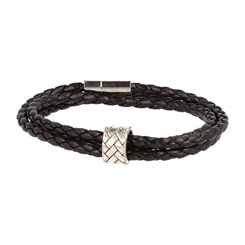 baxter-jewelry-london-cuero-de-la-pulsera-del-abrigo-de-la-pulsera-de-nero-jary