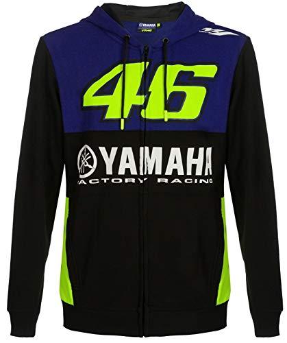 Yamaha VR46 Valentino Rossi Herren Jacke Hoddie Royal Blue, Größe: XXL
