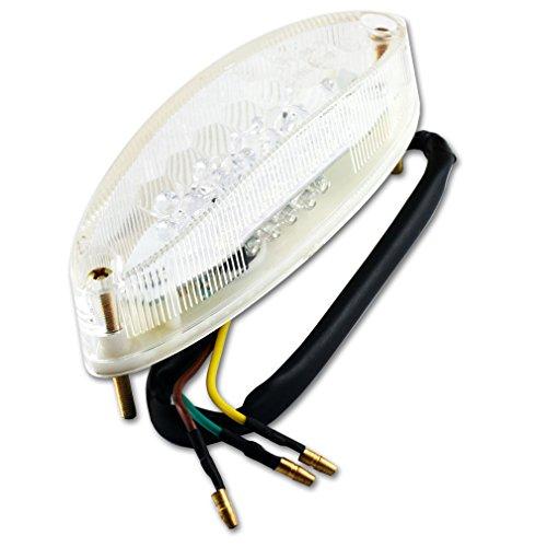 LED Rücklicht Bremslicht Rücklampe Mit Kennzeichnenleuchte Für Motorrad ATV