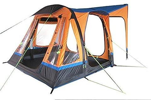 Olpro Loopo Breeze Inflatable Campervan Awning - Orange/Black, 240