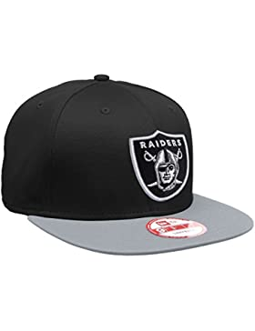 New Era Raider - Gorra unisex, color negro / gris