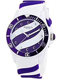 Madison New York analog Lollipop multi-color dial Unisex watch - U4620-01