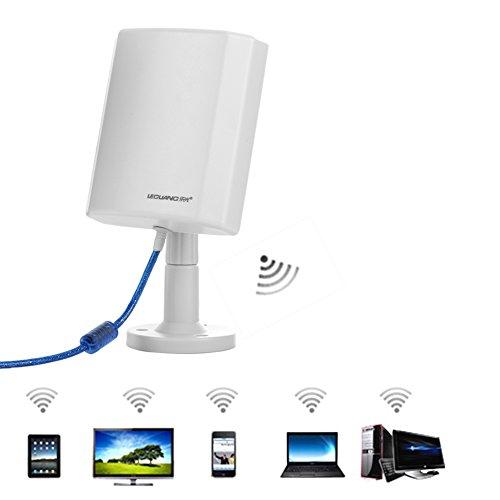 Connect Breitband-router (WLAN Repeater Connects zu Hot-Spots bis Weg zu 3000m 5.0m USB-Kabel 300 MBit/s weißbequemer zu akzeptieren Signal kompatibel mit allen WLAN Geräten)