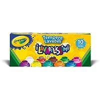 Crayola 54-1205 - I Lavabilissimi 10 Tempere