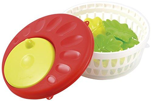 Ecoiffier - 961 - Jeu d'imitation - Essoreuse à Salade Garnie- Coloris aléatoire