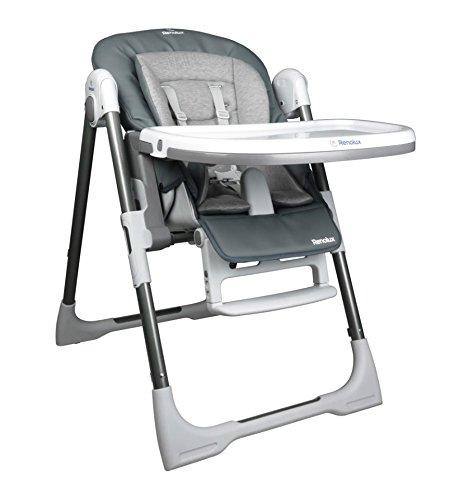 Renolux - Chaise haute bebe vision avec reducteur - Griffin
