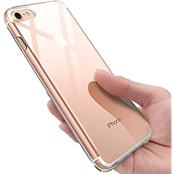 Coque iPhone 8, Étui iPhone 7 Silicone, innislink Liquid Crystal TPU Ultra-mince et Résistant aux Rayures Bumper Case iPhone 8 Housse iPhone 7 No Bulkiness Souple Cover iPhone7/iPhone8 - Transparent