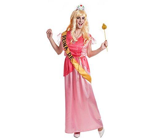 Disfraz de Reina del baile para hombre