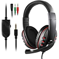 Gaming Headset for PS4 New Xbox One - Etpark 3.5mm Wired Over-head Stereo Gaming Headset Headphone with Mic Microphone, Volume Control for SONY PS4 PC Tablet Laptop Smartphone Xbox One S