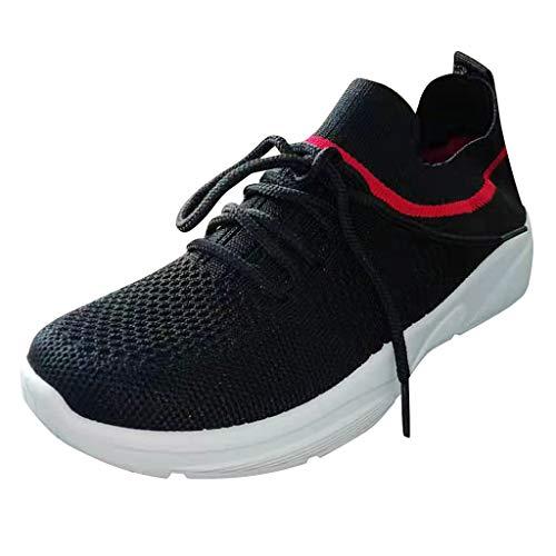 Robemon Uomo Donna Scarpe da Ginnastica Sportive Running Sneakers Super Leggere Traspiranti Fitness Sportive Uomo Scarpe da Calzino