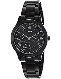 Timex Chronograph Black Dial Women's Watch-TW000Q809