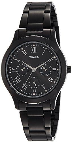 Timex Chronograph Black Dial Women's Watch-TW000Q809