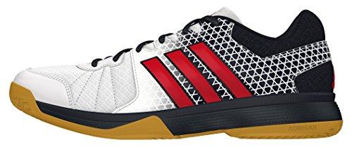 adidas Ligra 4 - Scarpe da voleibol da Uomo, taglia 43,1/3, colore Bianco