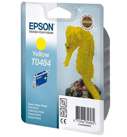 Epson Inkjet Cartridge Page Life 400pp Yellow Ref
