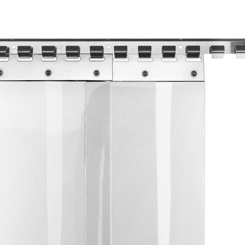 Cortina de láminas de PVC de 20cm de ancho