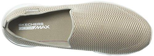 Skechers Damen Go Walk Joy Slip On Sneaker Tpe Taupe