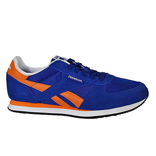 Reebok Royal CL Jogger Schuhe Herren Sneaker Turnschuhe Blau V62136 Royal Blue, Orange, Ecru