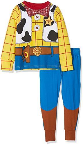 Toy Story Jungen Woody Dress Up Zweiteiliger Schlafanzug, Mehrfarbig (Multi), Jahre (Herstellergröße: 5-6) (Up Dress Für Jungen)