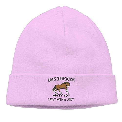 Fashion Funny hat Unisex Beanies Caps Bakers Graphic Designs Skull Hats Soft Hedging Cap -