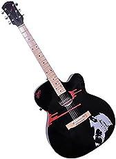 Signature Musicals Black Blade Guitar With Pickup