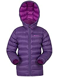 Mountain Warehouse Chaqueta Acolchada para niñas Seasons