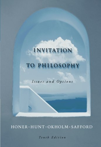 Invitation to Philosophy: Issues and Options by Stanley M. Honer (2005-02-15)