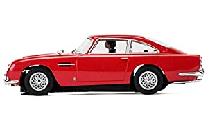"Scalextric 3722-""1: 32Aston Martin Db 1963Vehículo, Color Rojo"