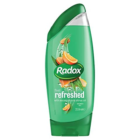 Radox Feel Refreshed with Eucalyptus and Citrus Oil Shower Gel 250 ml - Pack of 6