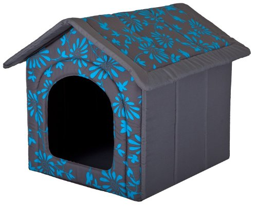 Hundehöhle Blaue Blumen