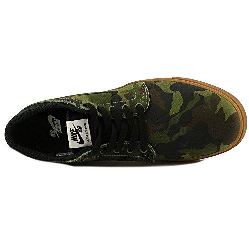 Nike Zoom Team Edition Sb Toile Chaussure de Basket Medium Olive-Black-GM MD Brown