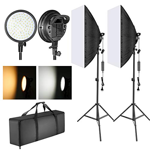 Neewer Softbox Kit Iluminación LED 51